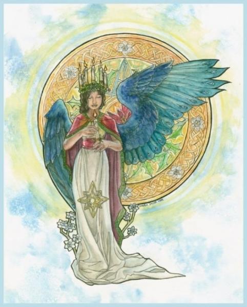Spirits of Winter Angelic Shades
