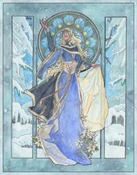 lady-snowflake