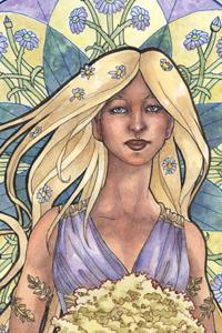 Lady of April