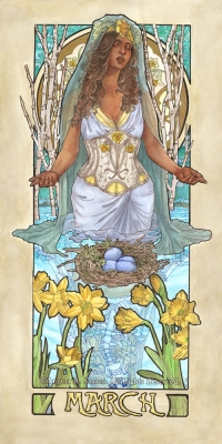 Lady of March
