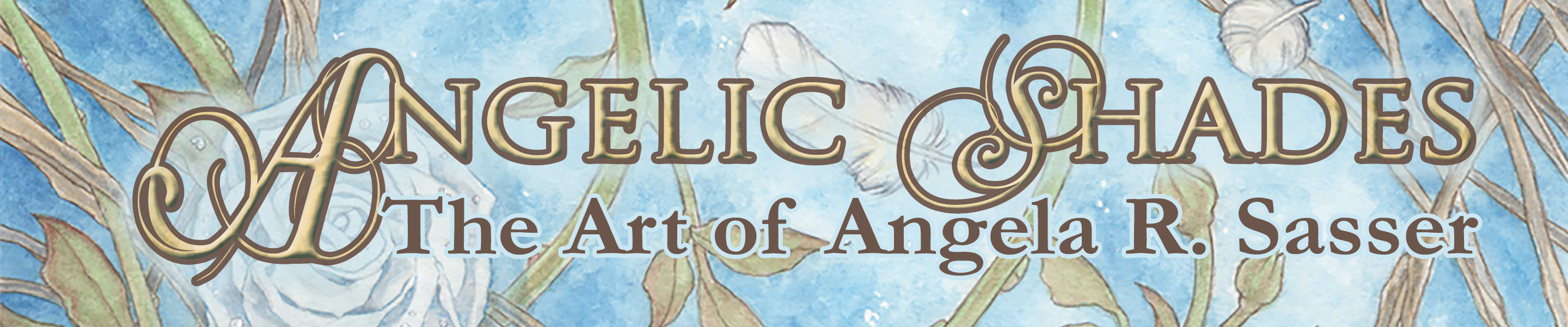 Angelic Shades – Art Nouveau and Angelic Art by Angela R. Sasser